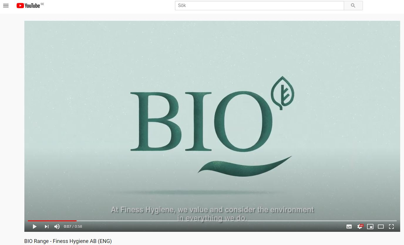 BIO range, high-quality disposable products without plastics, made form natural materials only